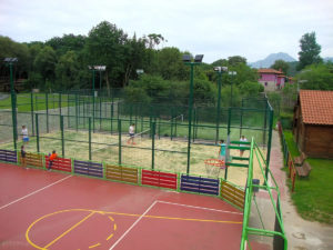 Pistas polideportiva Camping de Ribadesella