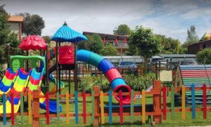 Parque infantil Camping de Ribadesella