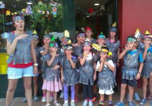 Fiesta disfraces Camping de Ribadesella
