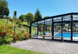 Exterior piscina cubierta Ribadesella