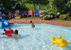 Piscina infantil Camping Ribadesella
